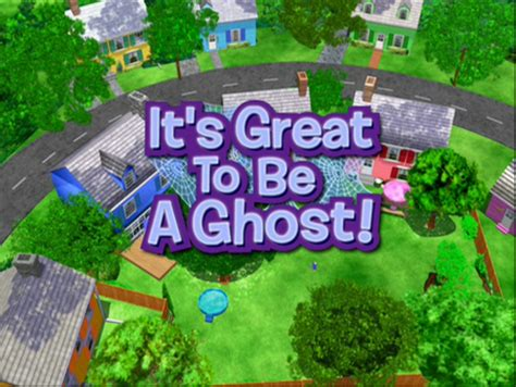 Backyardigans It S Great To Be A Ghost Dvd It S Great To Be A Ghost The Backyardigans Wiki