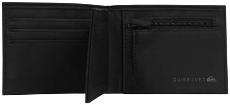Ripcurl 6603 Black Blue Stitch quiksilver stitched wallet black for sale at surfboards