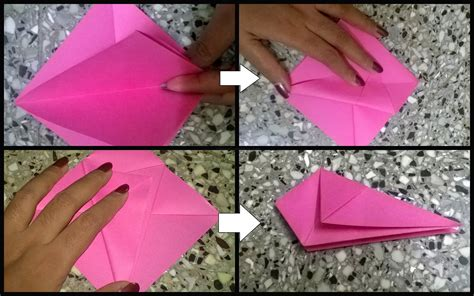 Origami Basket Tutorial - paper craft origami basket 3 the crafty