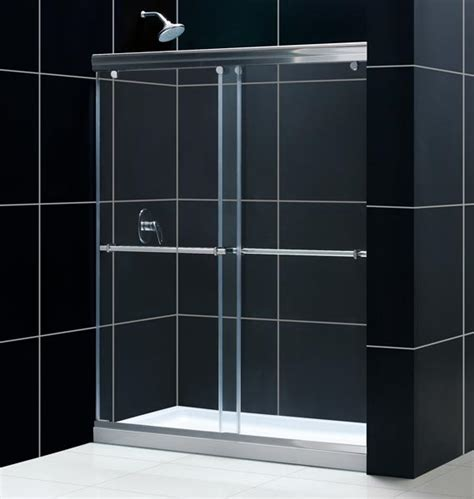 Slide Shower Door Charisma Frameless Sliding Shower Door Shower Door Glass Frameless Shower Door