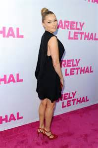 Clare grant barely lethal premiere in los angeles