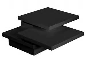 the superficial attraction of black gloss coffee table
