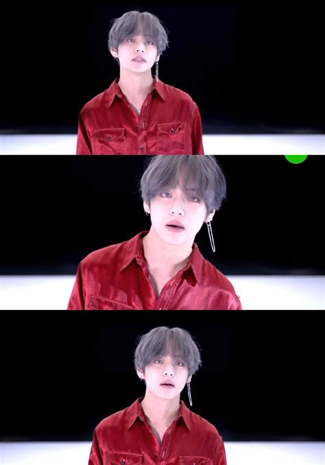 film love yourself bts oh hello dangling earring v bts dna love