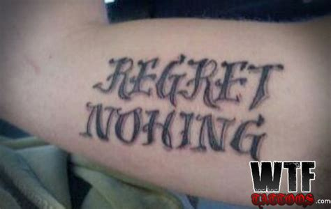 ironic tattoos the is up