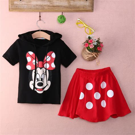 baby boy clothing set 2016 summer minnie mouse