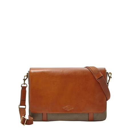 Fossil Aiden Ew City Bag fossil aiden e w messenger mbg9263 fossil 174 bags