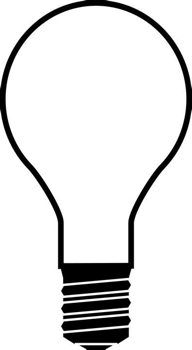 Light Bulb Outline Clip by Kostenlose Vektorgrafik Gl 252 Hbirne Licht Birne Icon