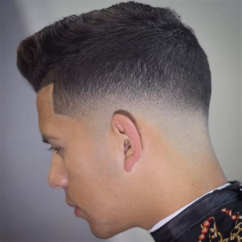 mid fade haircut 40 modern pompadour hairstyles for men with images atoz