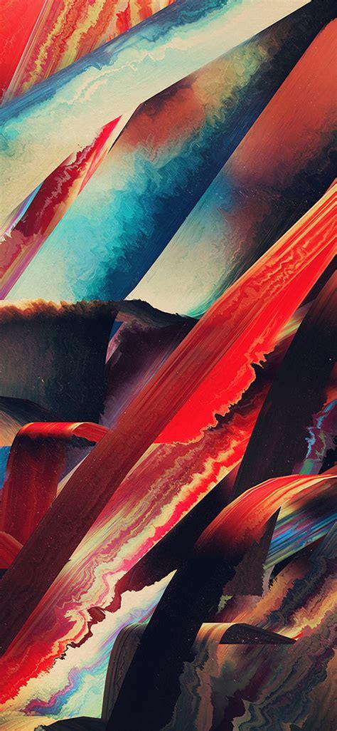 vt art paint hampus olsson pattern red dark abstract