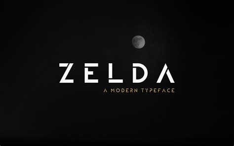 designmantic font zelda free typeface on behance