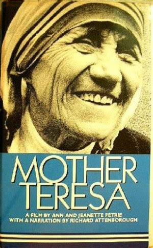 mother teresa authorized biography navin chawla mother teresa quotes on war quotesgram