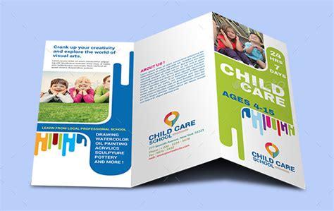 10 Elegant Adobe InDesign/Phothop, MS Publisher Child Care