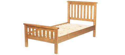 Pine Bed Frame Single Pine Single Bed 3 Quercus Living