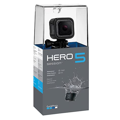 buy gopro buy gopro hero5 session camcorder 4k ultra hd 10mp wi