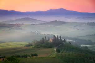 Tuscan Home Decor Magazine tuscany farmhouse belvedere at dawn san quirico d orcia