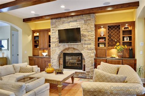 Fireplace Floor To Ceiling Ideas by Floor To Ceiling Fireplace