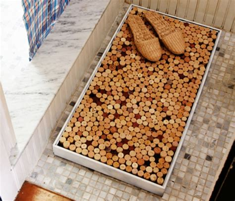 cork mats for bathrooms 10 corky diy projects you should definitely try
