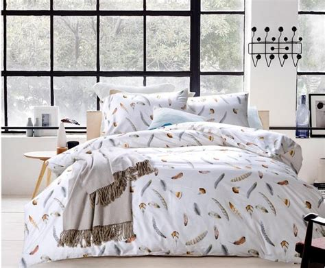 feather print bedding popular feather bedspreads buy cheap feather bedspreads