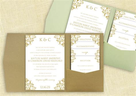 pocket wedding invitation template 20 best images about diy pocket wedding invitation
