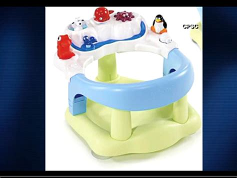 baby bathtub seat recall baby bath seats chairs recalled due to drowning hazard