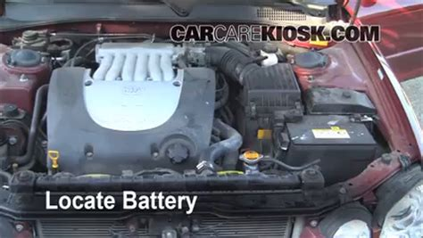 2006 Kia Battery Battery Replacement 2001 2006 Kia Optima 2004 Kia