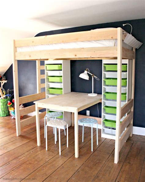 full size loft bed with desk for adults full size loft beds adult modern twin bedding build