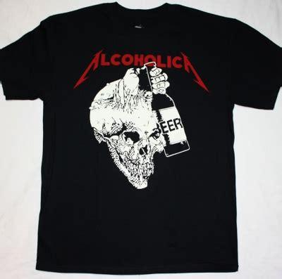 Alcoholica Tshirt flotsam and jetsam no place for 88 thrash