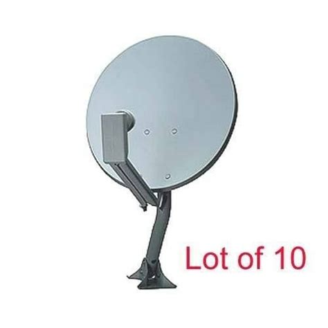 lot 18 quot dish antenna dual lnb for dtv direc tv directv ebay