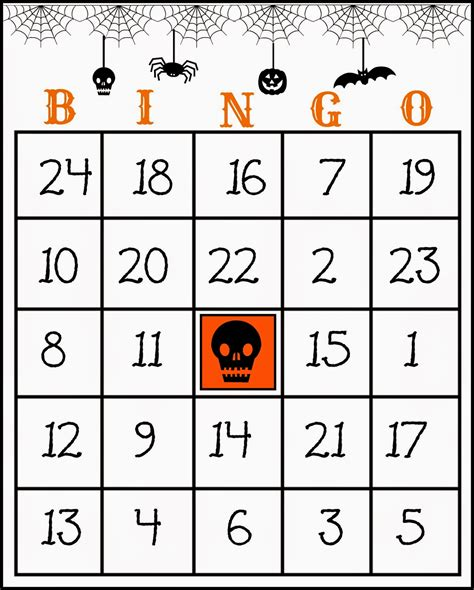 free printable number bingo cards crafty in crosby free printable halloween bingo game