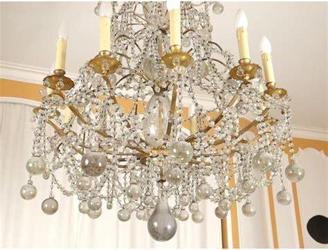 Chandelier With Glass Balls Trash X Lights Chandelier Glass Balls Golden Bronze Seventeenth