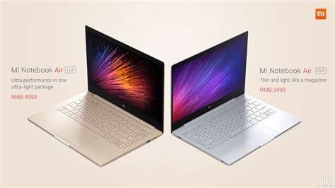 Xiaomi Macbook Air xiaomi mi notebook air deux ordinateurs portables aux
