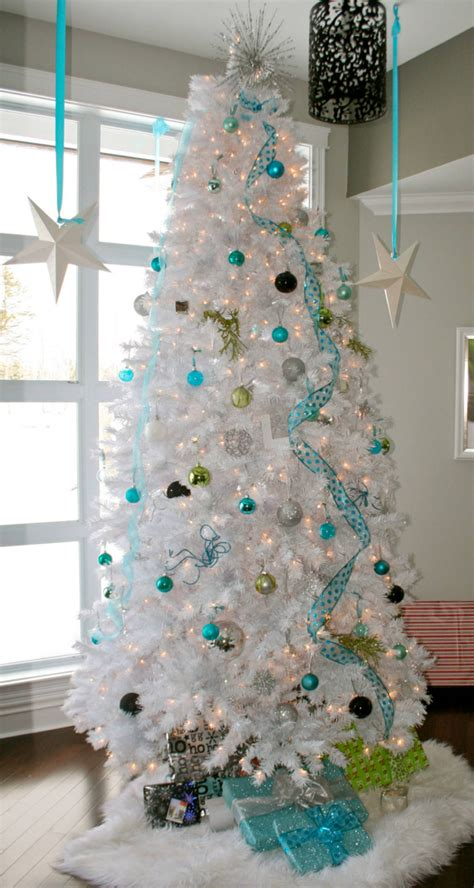 christmas trees tourquoise and silver lookandlovewithlolo oh tree