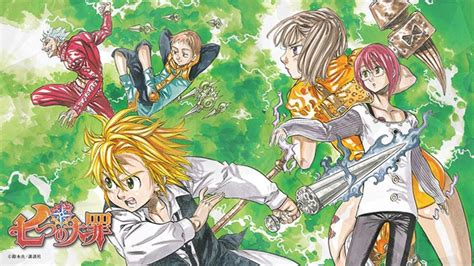 Anime 7 Deadly Sins Season 3 by 7 Deadly Sins Anime Nanatsu Www Pixshark Images