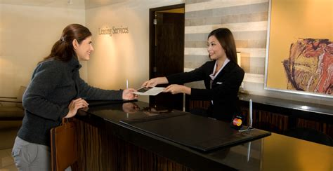 At The Front Desk by The Of Front Desk In Hotel Operations