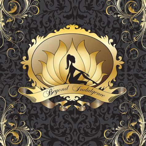 beyond beautiful salon and boutique beyond indulgence custom beauty salon spa logo design