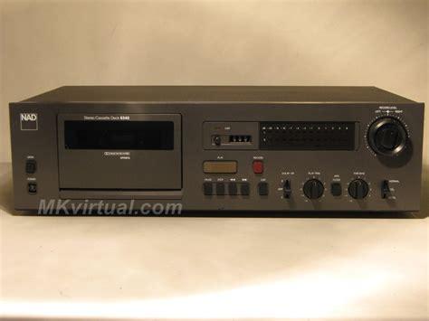 nad cassette deck nad 6340 cassette deck