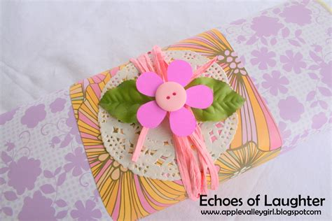 Gkm Flower Pink an easter cupcake gift echoes of laughter