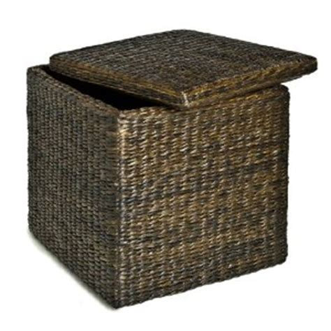Unique Storage Ottoman 5 Best Wicker Ottoman Features A Unique Design And Look Tool Box