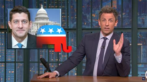 late night seth meyers nbc com seth meyers fires back at an email from paul ryan