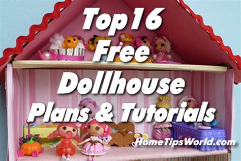 how do you make a doll house the top 16 free dollhouse plans or tutorials