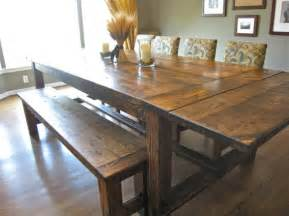 Dining Room Table Bench Plans How To Build A Dining Room Table 13 Diy Plans Guide