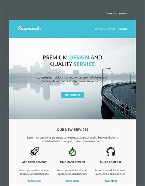 best layout email marketing 25 best responsive email templates email design email