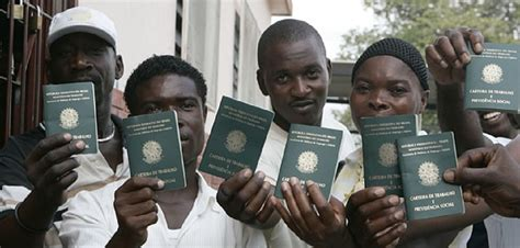 people to people visa haitians brazil and a humanitarian crisis borgen
