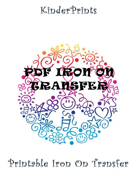 printable iron on transfers printable pdf iron on transfer design for t by