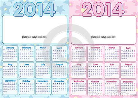 Baby Calendar 2014 Baby Calendar 2014 In Stock Photo Image 35667990