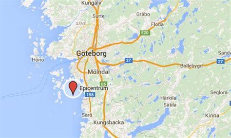 Jordskalv Sverige Jordskalv I G 246 Teborg Fria Tider