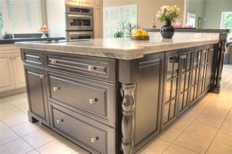 granite kitchen islands with storage cabinet i like the dark island with the light granite contrasting