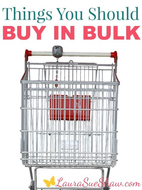 7 Surprising Items You Should Buy In Bulk by Weekend Wandering Living Well Spending Less 174