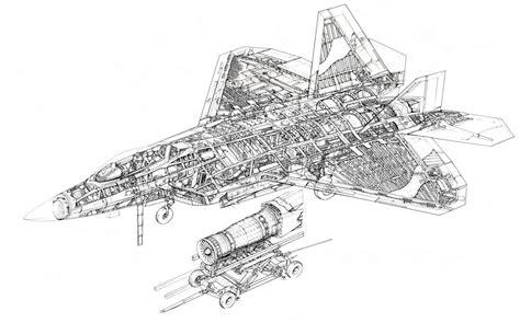 f 22 diagram hightechnologyzone 5th generation jet fighter s technology