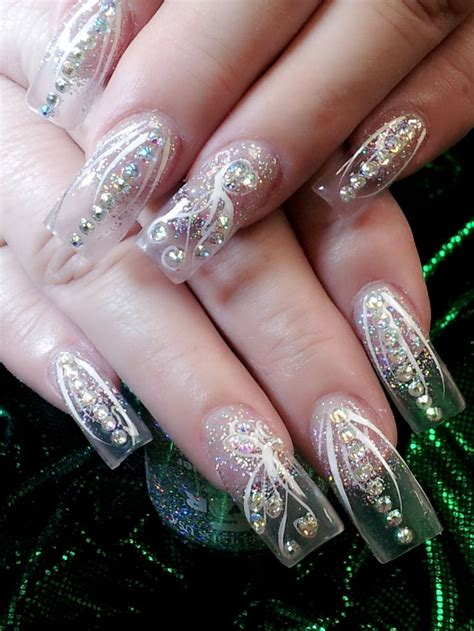 Clear Nail by Best 25 Clear Nail Designs Ideas On Nails For